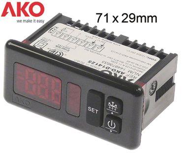 AKO Elektronikregler AKO-14123 230V AC für NTC/PTC -50 bis +99°C