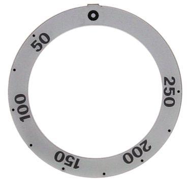 Küppersbusch Knebelsymbol für Backofen ECL484 für Thermostat