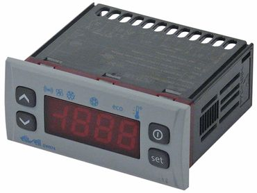 Eliwell EW974 Elektronikregler 230V AC für NTC Abmaße 71x29mm