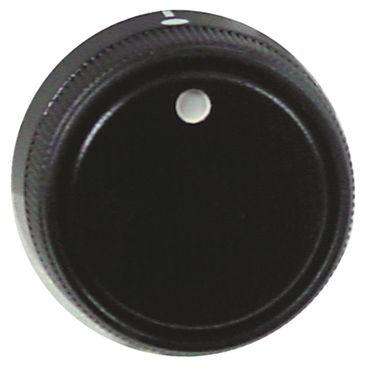 CB Knebel ø 39mm Symbol mit Nullstrich für Achse ø 6x4,6mm