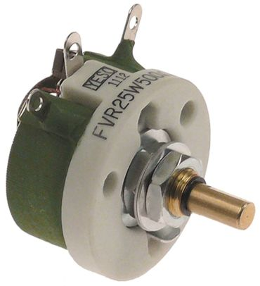 Cookmax Potentiometer FVR25W für 222004, 222005 500Ohm 12,8mm 25W