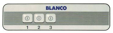 Blanco Tastaturfolie für Wärmewagen SAW3 3-fach