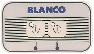 Blanco Tastaturfolie 2-fach
