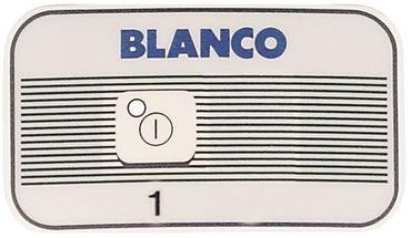 Blanco Tastaturfolie 1-fach