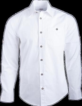 Almwelt Herren Trachten Hemd weiß Ottmar