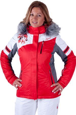 Almwelt Damen Skijacke rot