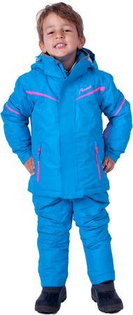 Almwerk Kinder Skijacke in blau