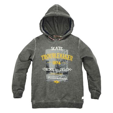 Bondi Sweatshirt Troublemaker graphit