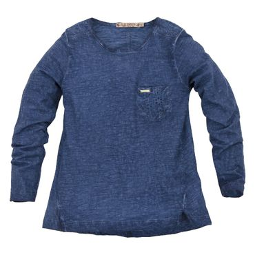 Bondi T-Shirt blue Papaya navy/rot 37063