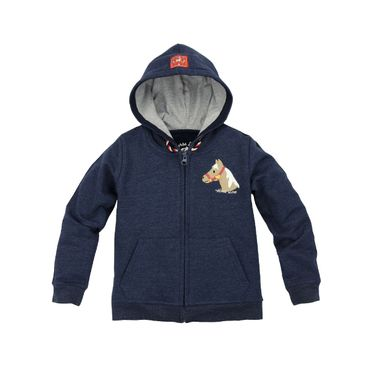 Bondi Sweatjacke Horse Love navy