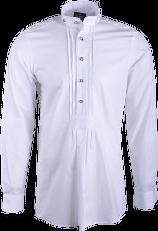 Hammerschmid Herren Hemd Pfoad Stehkragen 1008 weiß