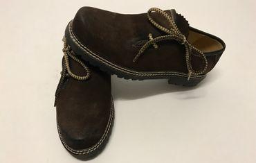 on sale 36d41 b79bd Almwelt Herren Trachten Schuhe Hias 202 680 dunkelbraun