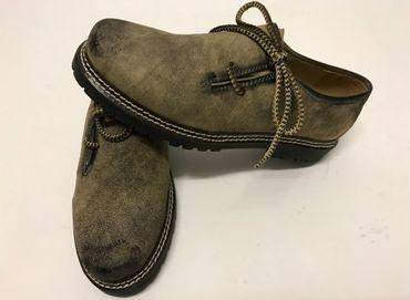 Almwelt Herren Trachten Schuhe Hias 202  681 hellbraun used look