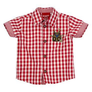 Bondi Trachtenhemd karo rot
