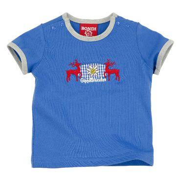 """Bondi T-Shirt """"Gipfelkraxler"""" blau"""