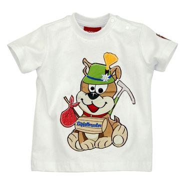"""Bondi T-Shirt """"Wandersmann"""" weiss"""
