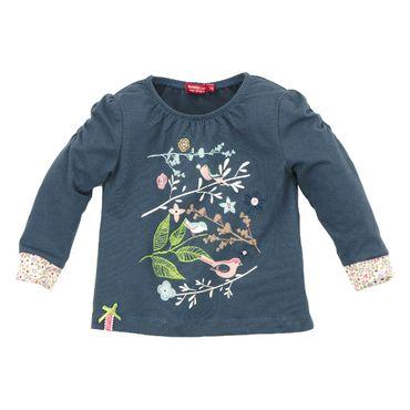 "Bondi T-Shirt ""Vögelchen"" blau 85532"