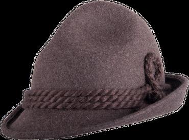 Trachten Dreispitz-Hut braun