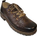 Maddox Herren Trachten Schuh Lenzi braun-rustik 001