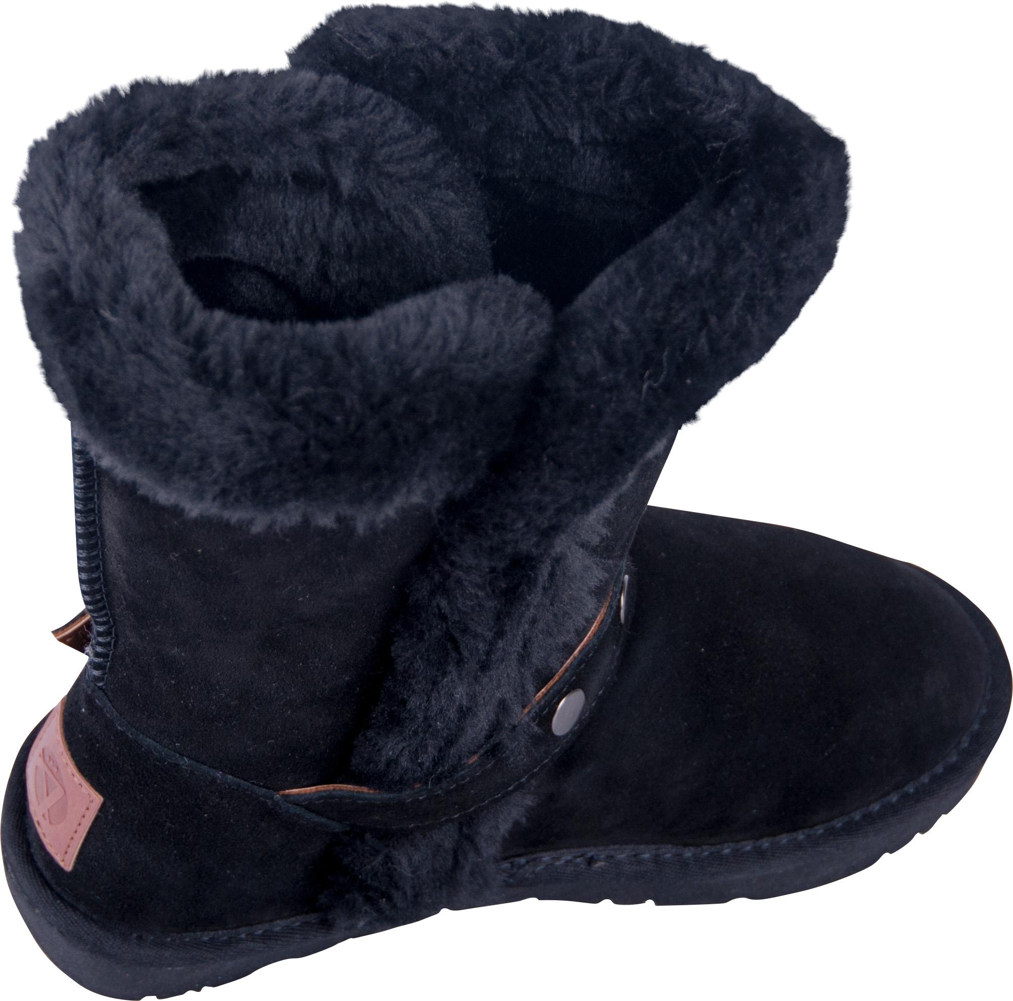 0fac54927bea81 Almwelt Damen Winter-Stiefel Boots Schlupf-Stiefel aus Echtleder warm  gefüttert in verscheidenen Farben
