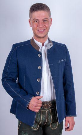 Kaiseralm Herren Sakko Fuschl 5219 blau