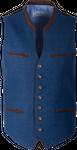 Kaiseralm Herren Weste Bogen 5213 blau 001