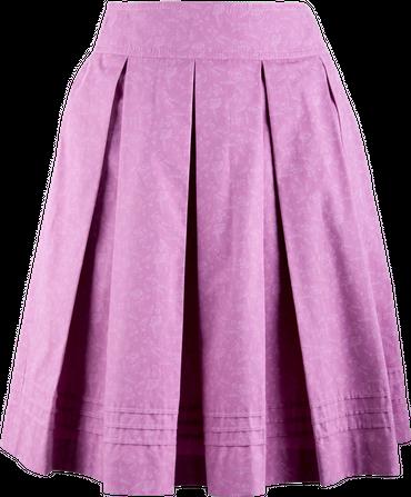 Kaiseralm Damen Faltenrock Hedwig 5271 rosa