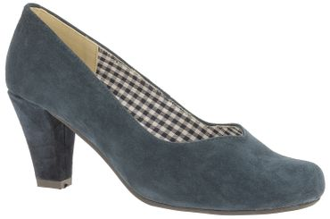 Esgano Damen Pumps blau 3000507017