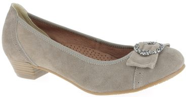 Esgano Damen Pumps taupe 3009220066
