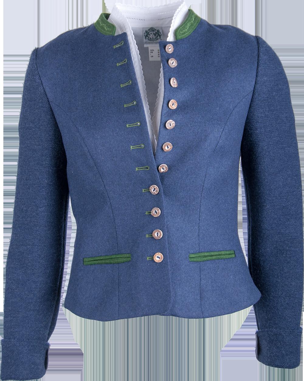 new style 516fd e7b2d Hammerschmid Damen Jacke Filzmoos blau