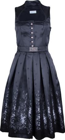 Kaiseralm Damen Dirndl Kitty 8236 schwarz