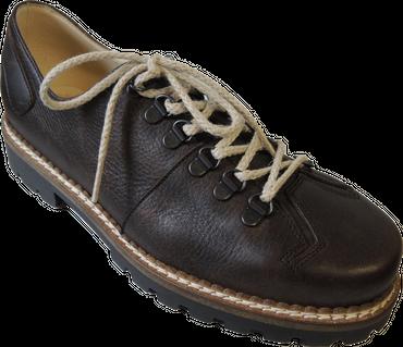 Südtiroler Herren Schuh 2816U Vitello Mogano braun