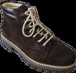 Südtiroler Herren Schuh 2711U Velour Caffe 001