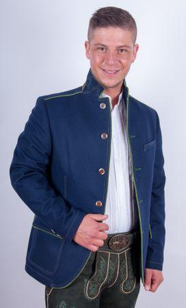 Kaiseralm Herren Janker Arno 5311 blau