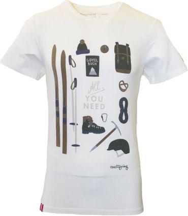 Almgwand Herren Shirt Lackenalm 23951 beige