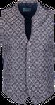 Kaiseralm Herren Weste Bogen 5459 anthrazit 001