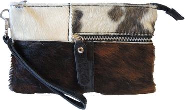 Der Trachtler Damen Tasche 42035-57 Leder/Kuhfellr