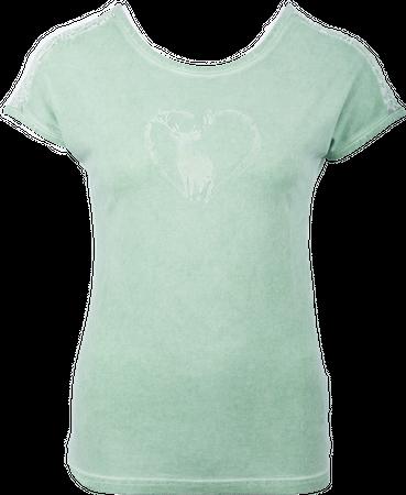 H.Moser Damen Shirt Gschnitztal 98281 grün