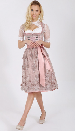 Krüger Damen Dirndl Nicky 17546 60 rose