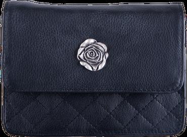 Damen Trachten Tasche 2056 schwarz/Rose