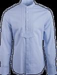 Gweih&Silk Herren Hemd GS05 172 blau 001