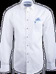 Gweih&Silk Herren Hemd GS04 weiss/blau 001