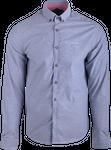Northland Herren Hemd Vitus 08864 grau-blau 001