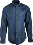 Gweih&Silk Herren Hemd karo Guschtl grün 001