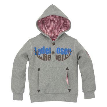 "Bondi Sweatshirt ""Lederhosen"" grey melange"