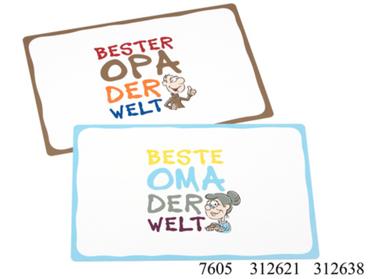 Platzmatte, Platzset, Tischset Beste Oma/Bester Opa von Ritzenhoff & Breker