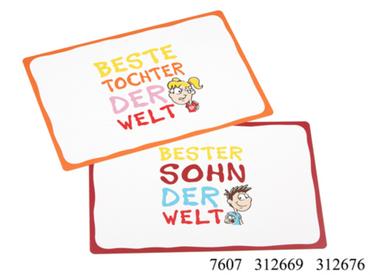 Platzmatte, Platzset, Tischset Beste Tochter/Bester Sohn von Ritzenhoff & Breker
