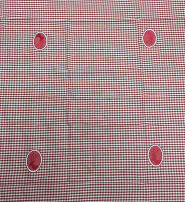 Tischdecke Ziller rot