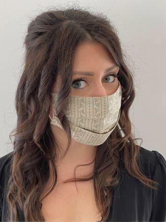 Almwelt Mund Nasen Maske Stoffmaske aus Baumwolle Style 4