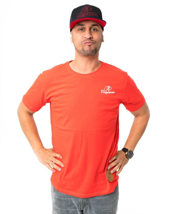 JP BASIC RED T-SHIRT – Bild 1